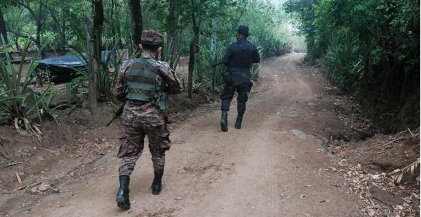 Patrullaje es permanente en zona de Morazán fronteriza con Honduras