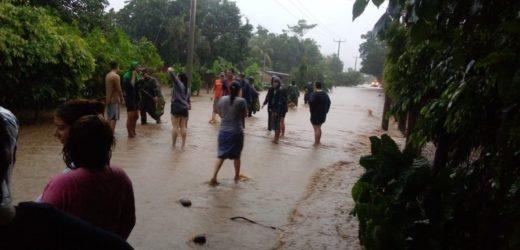 Tormenta Tropical AMANDA se debilita a Depresión Tropical sobre territorio de Guatemala, dando continuidad a la situación de temporal en El Salvador.