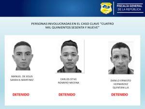 FGR San Miguel giró hoy ocho ordenes de captura contra extorsionistas