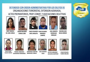 Envían a prisión a integrantes de pandilla por 18 casos de extorsión