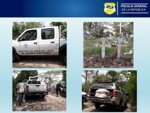 FGR Zacatecoluca realiza investigación en torno a muerte de un reo que se encontraba en las bartolinas de la PNC de La Paz