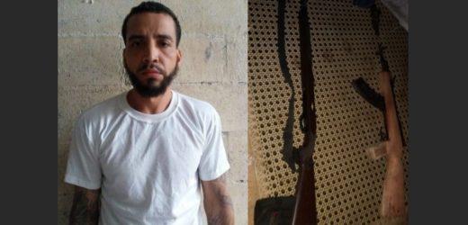 Cae pandillero con dos fusiles y munición en Usulután