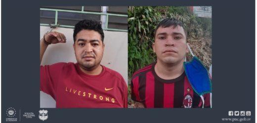 Policía captura a dos sujetos por agresión sexual en menor incapaz en La Libertad.