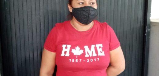 Policía detiene a una mujer por tráfico ilegal de personas en un punto ciego en Las Chinamas.