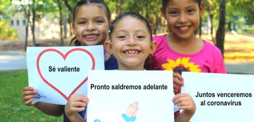 NPH EL Salvador lanza Campaña #VenceAlCoronaVirus para proteger a niños vulnerables