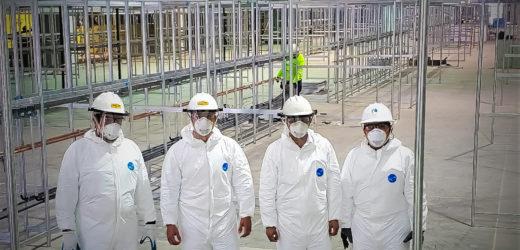 AES construye red eléctrica en pabellones de CIFCO