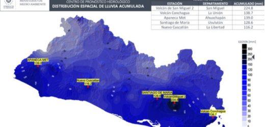 Depresión Tropical Cristóbal traerá más lluvia al Territorio Nacional