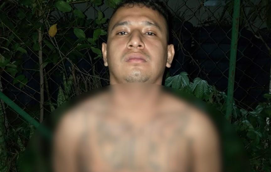 En flagrancia arrestamos a asaltante en San Martín