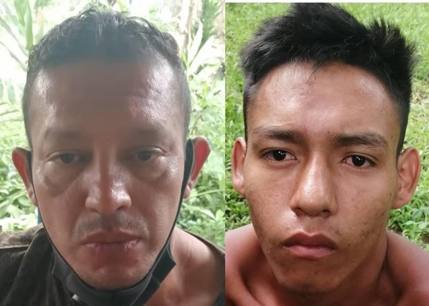 En Ahuachapán pnc arresta a 2 sujetos por homicidio tentado y amenazas