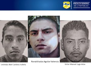 Tres miembros de estructura terrorista son condenados con penas de 265 y 262 años de prisión por el homicidio de la familia Pimentel
