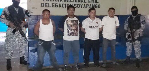 Capturan a pandilleros justo en el momento que planeaban hechos delictivos