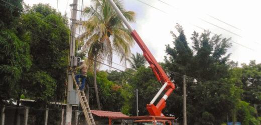 AES invierte US$ 64 mil para mejorar el servicio en Cabañas y Cuscatlán