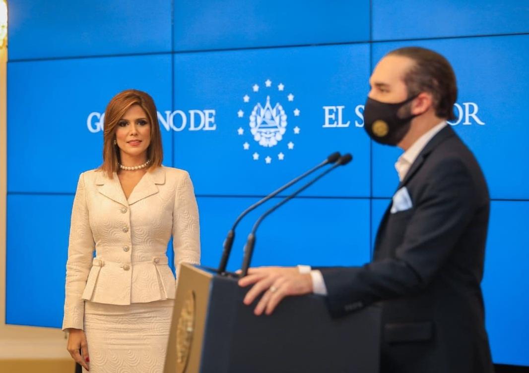 Presidencia de El Salvador nombra embajadora en Washington