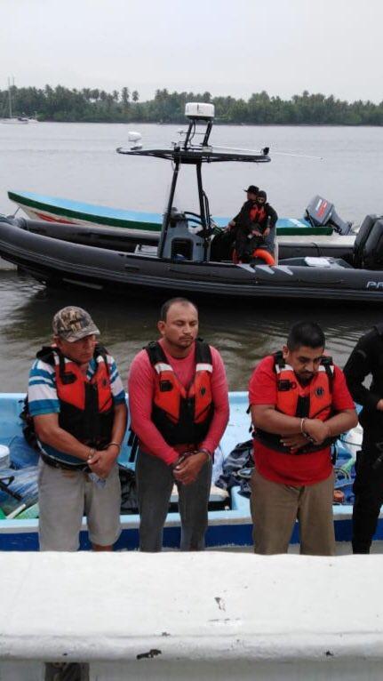 Fiscalia detiene tres guatemaltecos
