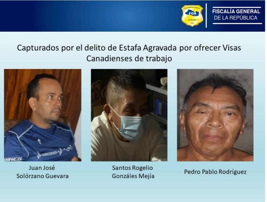 FGR ordenó capturas de miembros de banda de estafadores que ofrecían visas de trabajo en Canadá