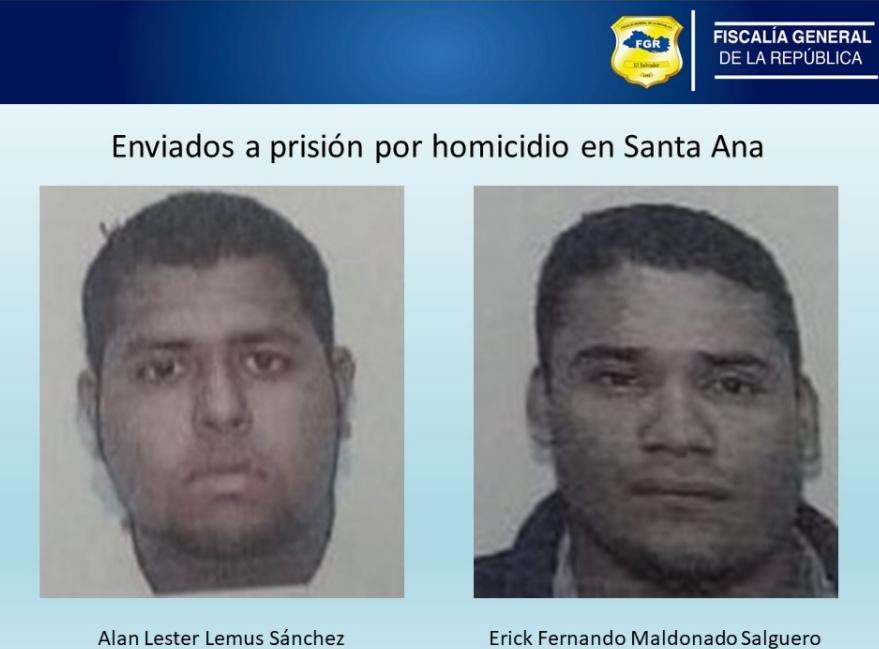 Envían a prisión a pandilleros acusados de homicidio en Santa Ana