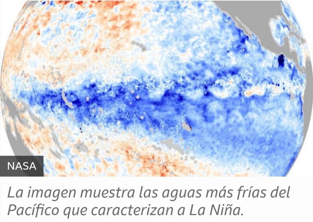 Qué efectos tendrá el nuevo episodio de La Niña que se está desarrollando en el Pacífico