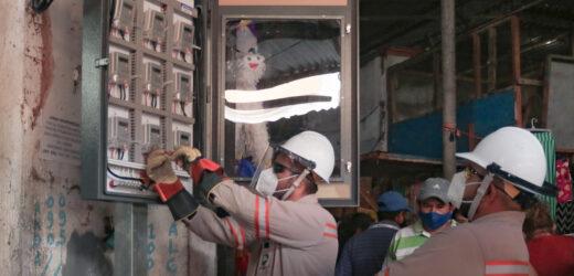 AES moderniza servicio eléctrico en Mercado Central de Santa Ana