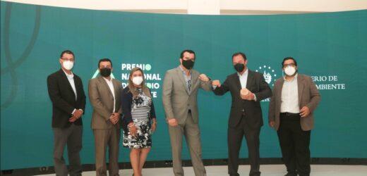 Bósforo recibe mención honorífica del Premio Nacional del Medio Ambiente 2020