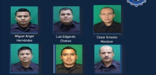 Fiscalía ordenó la captura de 6 agentes de la PNC por cometer ilícitos valiéndose de su función