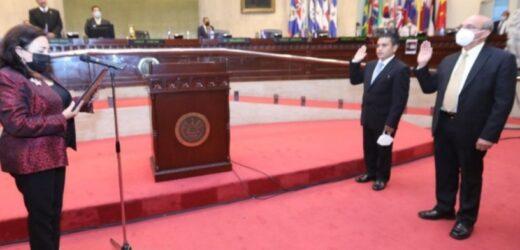 Santaneco electo magistrado suplente de la Corte de Cuentas