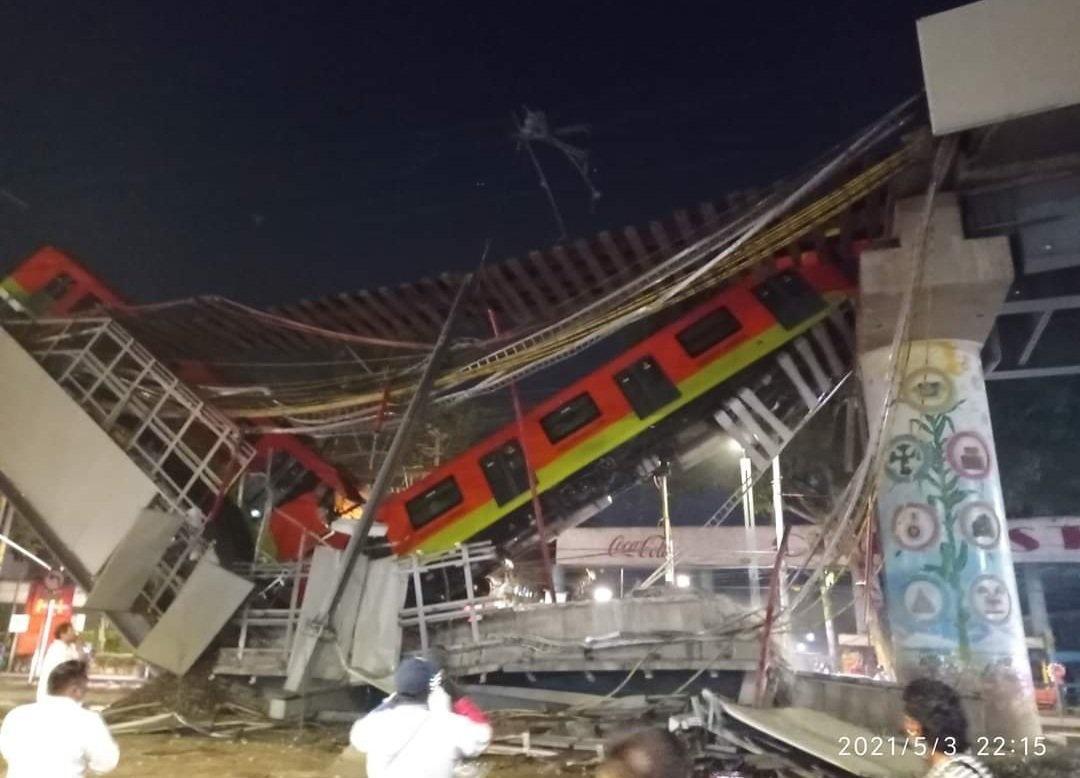 Mexico: Fallas en el Metro deja mas de 20 muertos