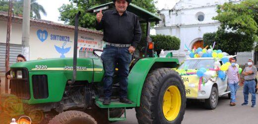 Fiestas de Metapan: Desfile Hípico en el Dia del Agricultor