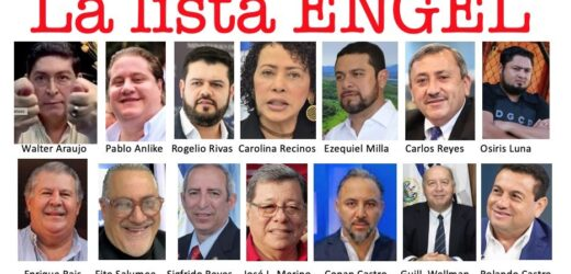 El Gobierno de los Estados Unidos hizo publica la lista Engel