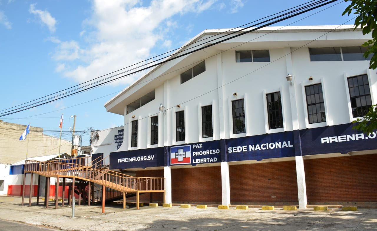 Gobierno de El Salvador a través de la Fiscalia ejecuta extincion de dominio al partido Arena