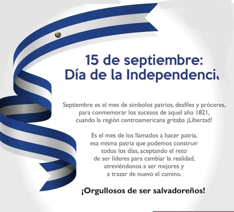 El Salvador: Oracion a la bandera en el Bicentenario de la Independencia Patria