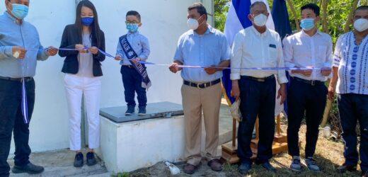 Japón Financió Construcción De Sistema De Agua Potable En Asentamiento Comunitario Hacienda El Carmen Agua Fría, Cantón Hato Nuevo, Municipio  y Departamento de San Miguel.